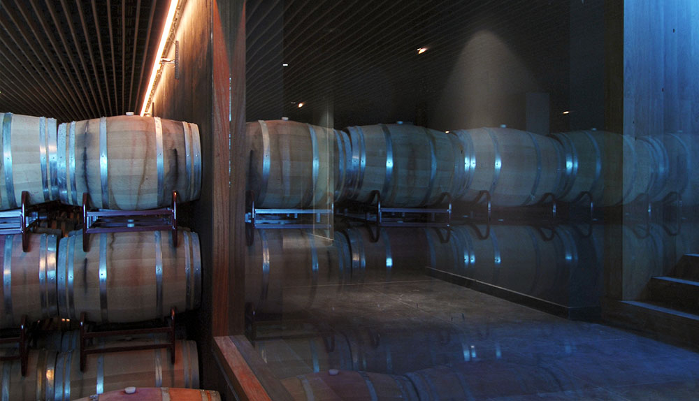 crianza de vinos en barrica